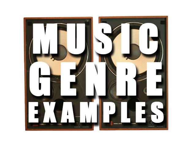 MUSICGENREEXAMPLES