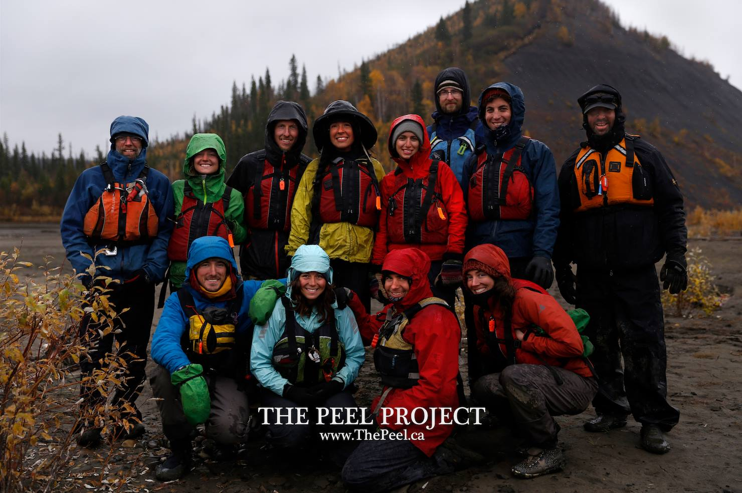 Returned home safely from the arctic with Peel Project