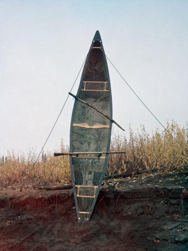 Canoe wind harp
